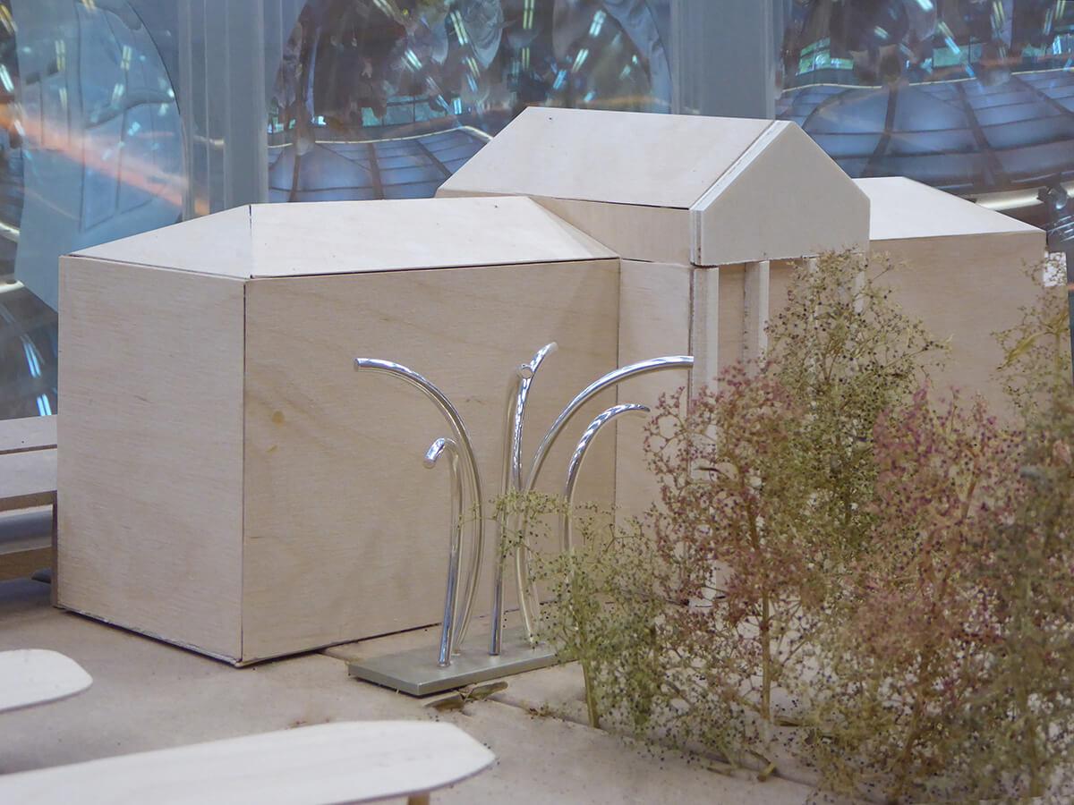 "Skulptur ""Momentum"" für den Döppersberg"